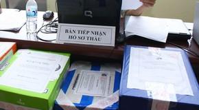 Tại thời điểm đóng thầu Gói thầu NĐN-11 thuộc Dự án Nhà đa chức năng của UBND tỉnh Thái Nguyên, có 4 nhà thầu nộp HSDT. Ảnh: Nhã Chi