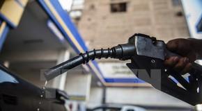 Một trạm bơm xăng. (Ảnh: AFP/TTXVN)