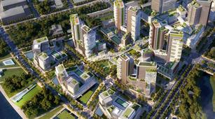 Tại TPHCM, dự án hạng sang được giới thiệu là tòa tháp Cove Residence của dự án Empire City với 40 căn. Ảnh Internet