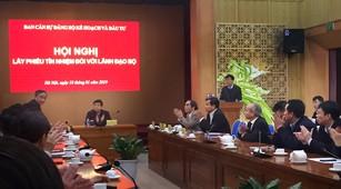 Theo kết quả lấy phiếu tín nhiệm, Bộ trưởng Nguyễn Chí Dũng đạt 100% số phiếu tín nhiệm cao