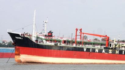 Thông qua việc mua 3 con tàu và cho thuê tàu, Giang Kim Đạt đã chiếm đoạt 260 tỷ đồng hoa hồng của Vinashinlines. Ảnh: Thùy Dương