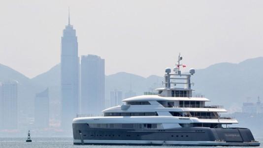 Siêu du thuyền lớn nhất châu Á giá 145 triệu USD của Trung Quốc