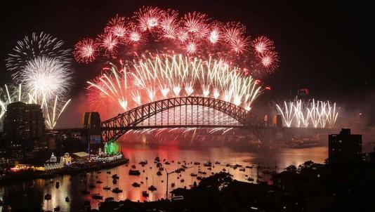 Hình ảnh đón năm mới trên khắp thế giới