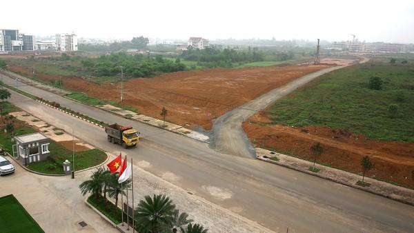 Những bất cập liên quan đến đất đai đang cản trở doanh nghiệp lớn mạnh. Ảnh: Tiên Giang