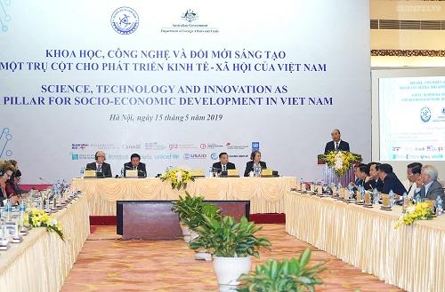 Thủ tướng Nguyễn Xuân Phúc phát biểu tại Hội nghị - Ảnh: VGP