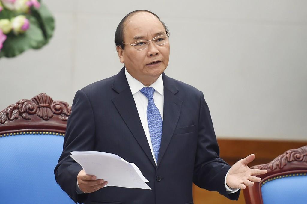 Thủ tướng nhấn mạnh 1 số nhiệm vụ cần triển khai ngay từ đầu năm như: Kế hoạch SXKD, tháo gỡ khó khăn cho SX…  Ảnh: VGP