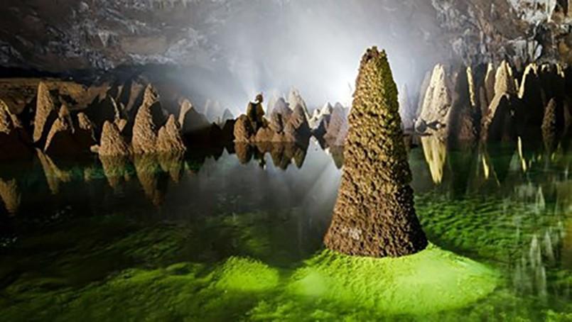 Một cảnh trong hang Va. Ảnh: Oxalis