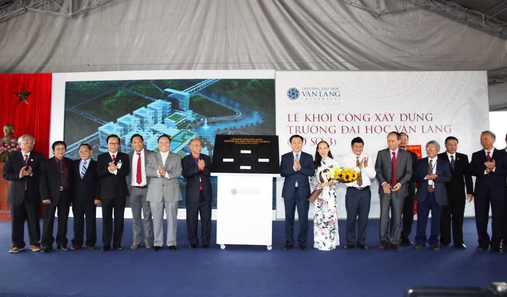 Khởi công xây dựng Cơ sở 3 Trường đại học Văn Lang - ảnh 1