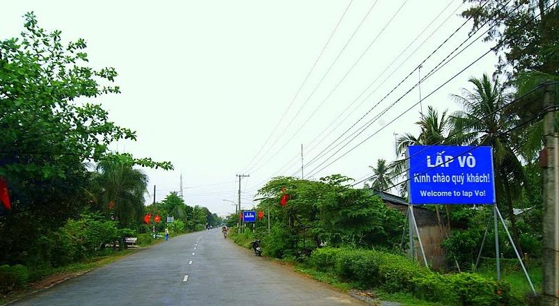 Đấu giá Quyền sử dụng đất tại huyện Lấp Vò, tỉnh Đồng Tháp
