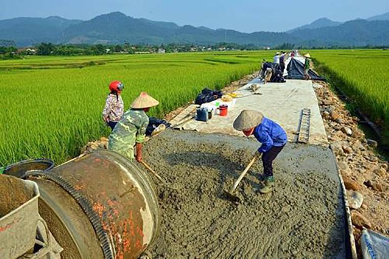Hậu Giang cần hơn 12.000 tỷ đồng xây dựng nông thôn mới. Ảnh minh họa: TTXVN