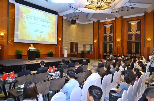 Doanh nghiệp Việt Nam và Trung Quốc mở rộng cơ hội hợp tác. Ảnh: TTXVN