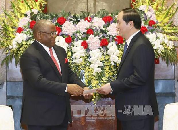 Chủ tịch nước Trần Đại Quang tiếp Bộ trưởng Ngoại giao Angola - ảnh 1