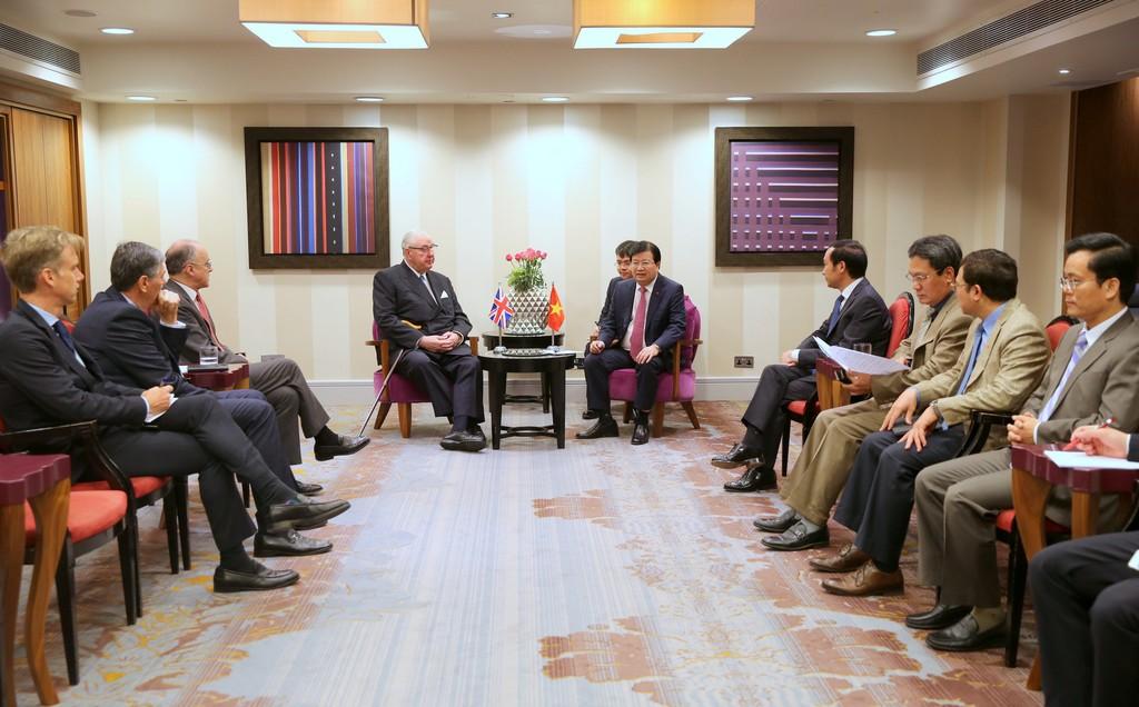 Chuyến thăm Anh thành công của Phó Thủ tướng Trịnh Đình Dũng - ảnh 3