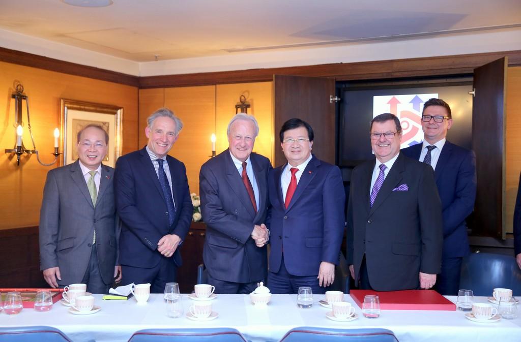 Chuyến thăm Anh thành công của Phó Thủ tướng Trịnh Đình Dũng - ảnh 4