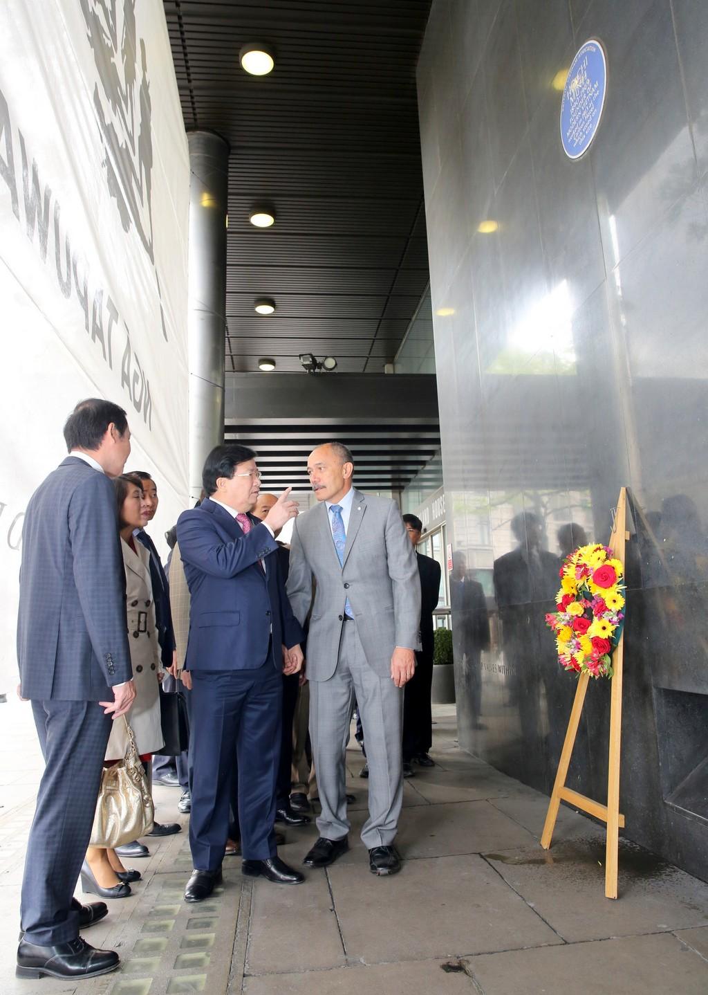 Chuyến thăm Anh thành công của Phó Thủ tướng Trịnh Đình Dũng - ảnh 7