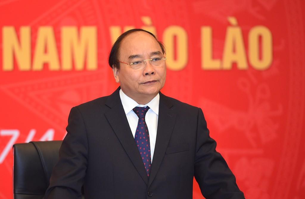 Thủ tướng phát biểu tại buổi gặp mặt. Ảnh: VGP