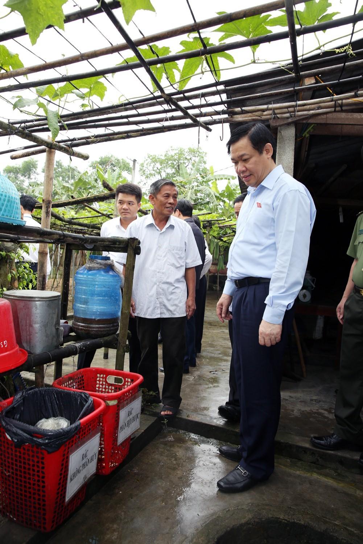 Phó Thủ tướng Vương Đình Huệ thăm nông thôn mới kiểu mẫu Hà Tĩnh - ảnh 3