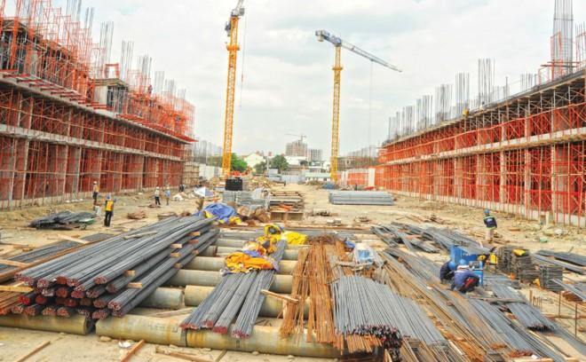 Một công trình chung cư thường mất từ 18 tới 24 tháng xây dựng.