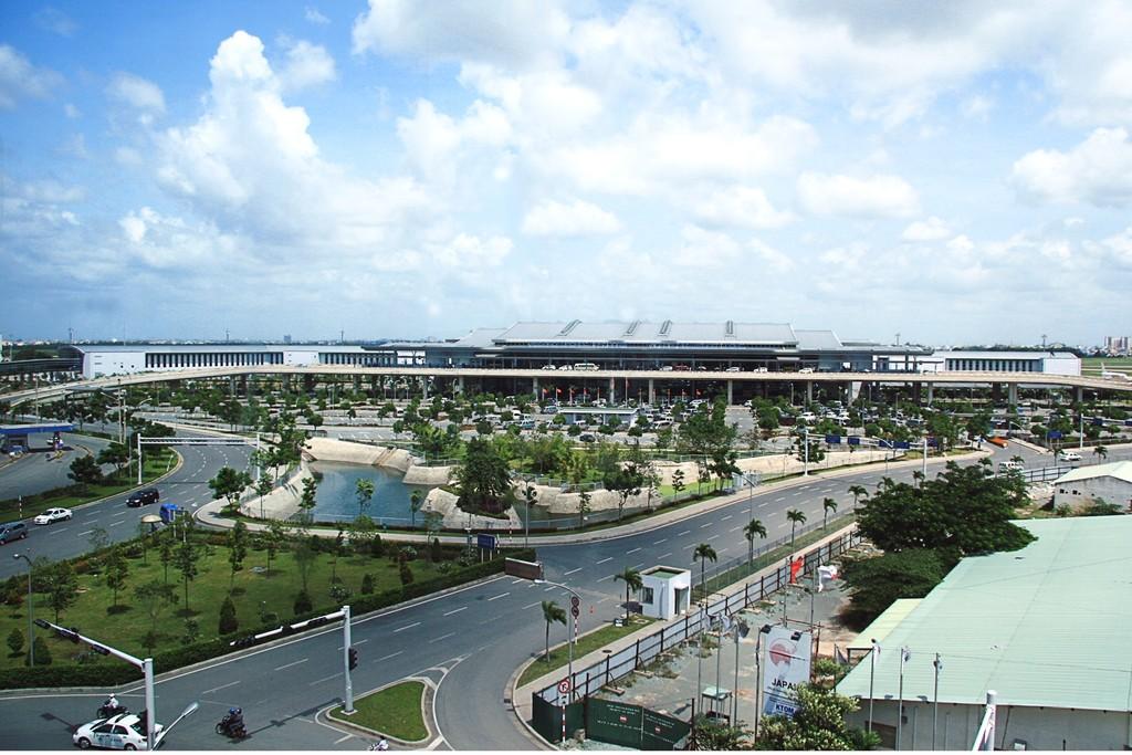 Dự án Mở rộng Nhà ga quốc tế T2 - Cảng Hàng không Quốc tế Tân Sơn Nhất. Ảnh Internet