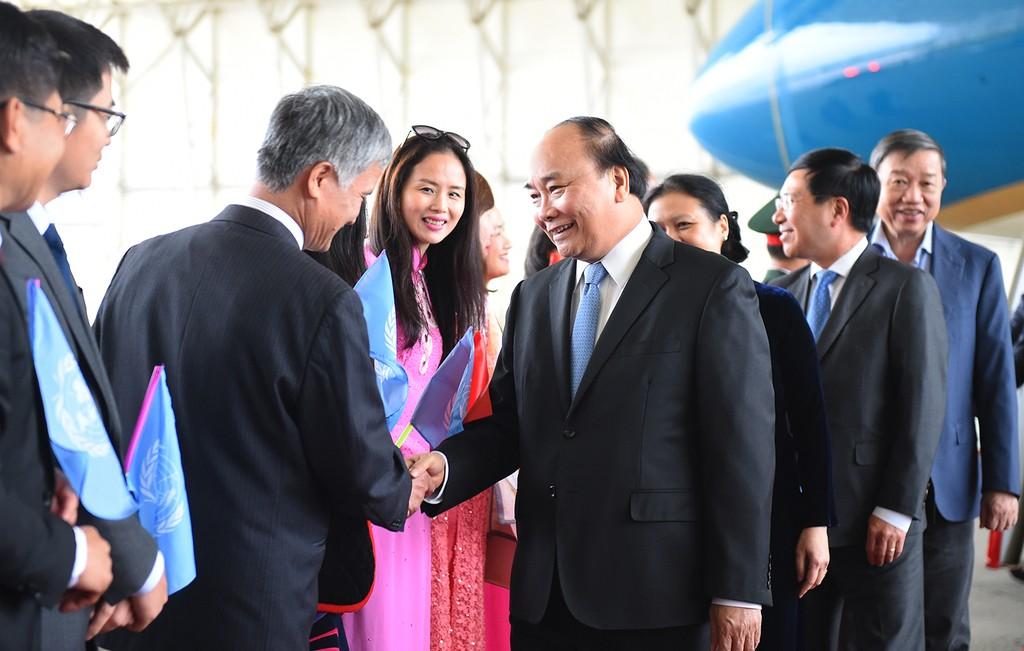 Thủ tướng đến New York bắt đầu chuyến thăm Hoa Kỳ - ảnh 1