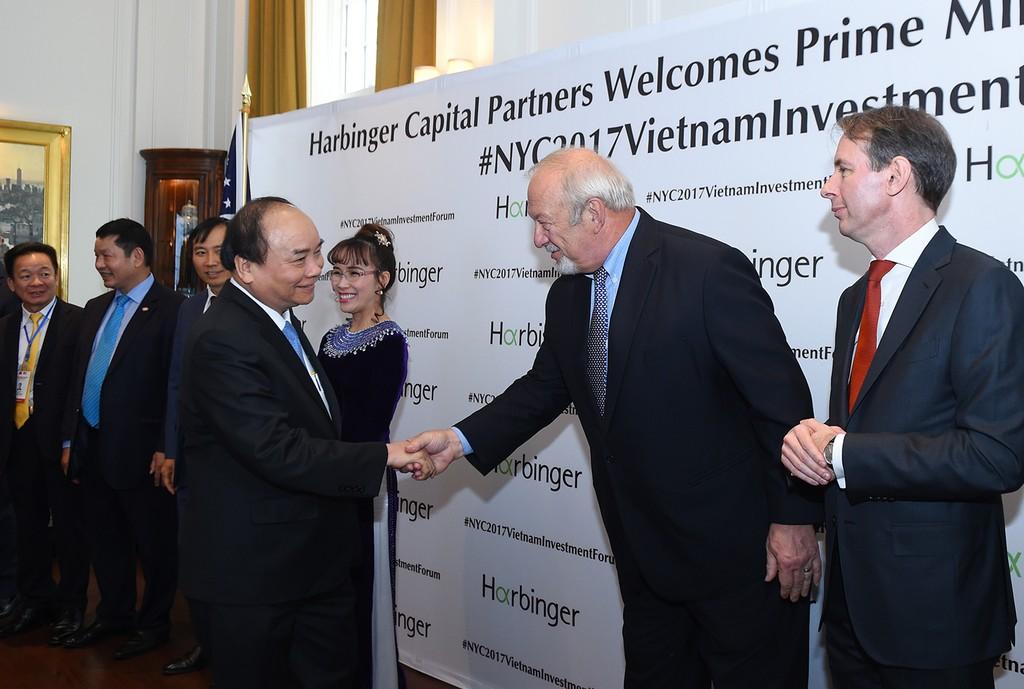 Chùm ảnh: Thủ tướng dự tọa đàm, tiếp lãnh đạo các tập đoàn Hoa Kỳ - ảnh 1