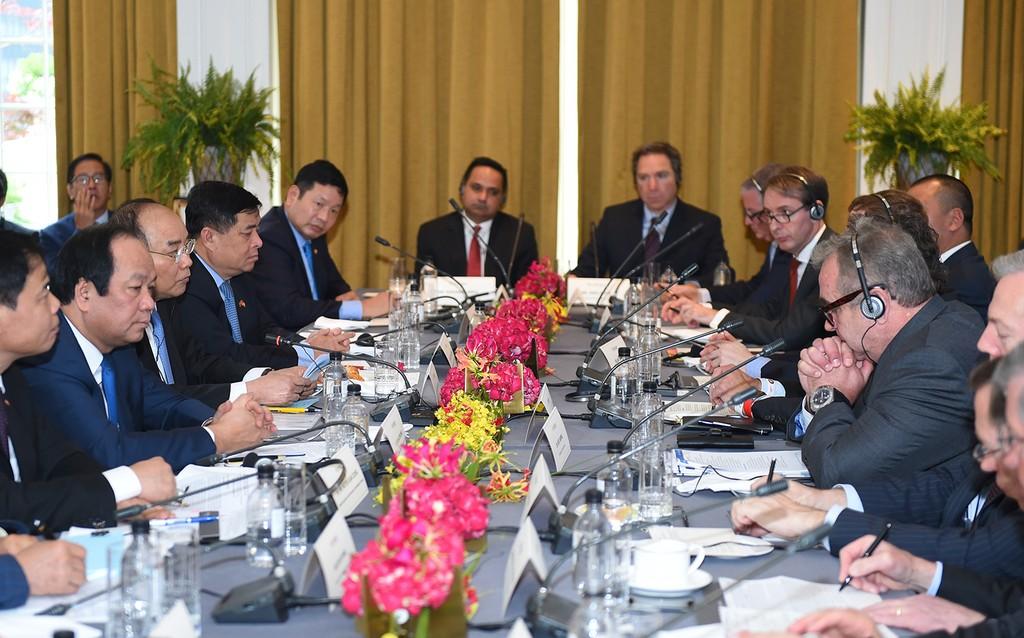 Thủ tướng tọa đàm bàn tròn với các doanh nghiệp Hoa Kỳ - ảnh 2