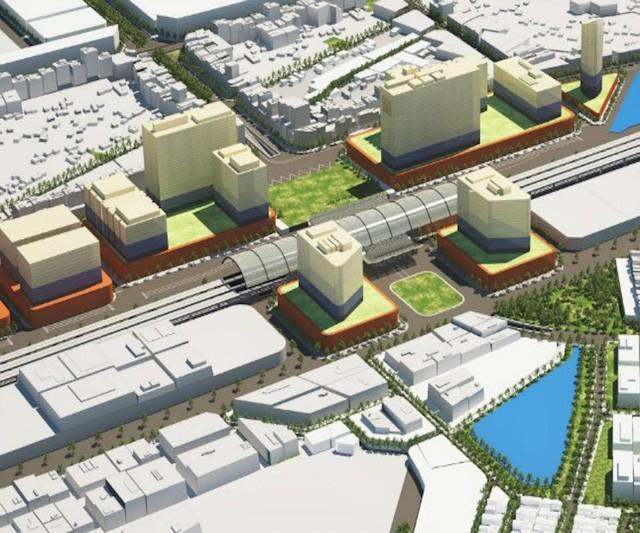 Phối cảnh dự án Ga đường sắt Đà Nẵng mới