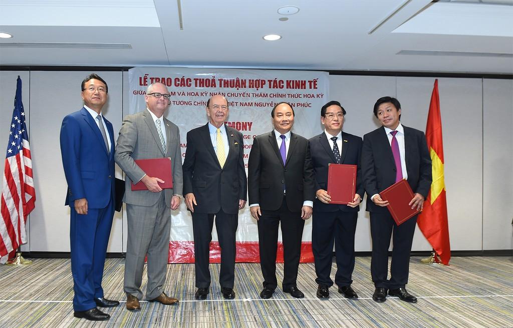 Thủ tướng chứng kiến doanh nghiệp Việt Nam, Hoa Kỳ trao văn kiện hợp tác nhiều tỷ USD - ảnh 1