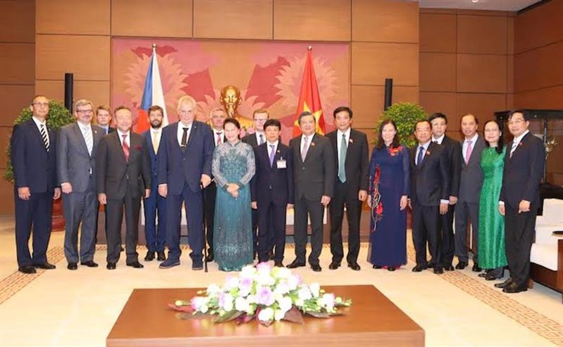 Việt Nam, Czech tiếp tục thúc đẩy quan hệ hợp tác giữa cơ quan lập pháp - ảnh 1