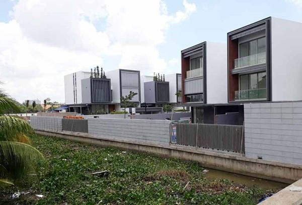 Thảo Điền Sapphire hay còn gọi là dự án biệt thự Holm có giá bán hàng chục tỷ đồng