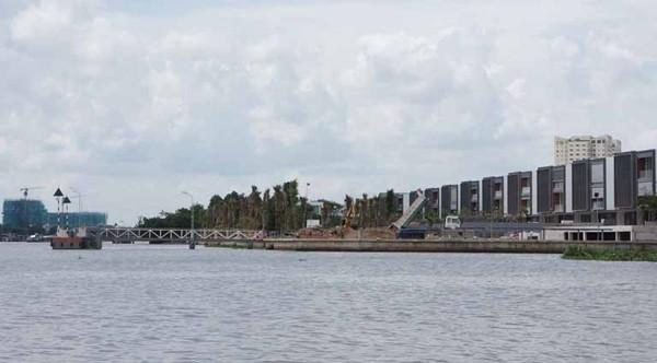 Cận cảnh dự án biệt thự Thảo Điền Sapphire xây sai phép bị phạt 1 tỷ đồng - ảnh 2