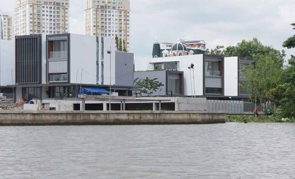 Cận cảnh dự án biệt thự Thảo Điền Sapphire xây sai phép bị phạt 1 tỷ đồng - ảnh 3