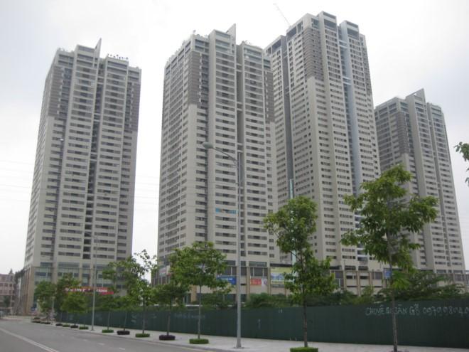 Tháp CT3 và khu vực khối đế Tòa nhà chung cư The Pride có tên trong danh sách 79 công trình vi phạm quy định về PCCC