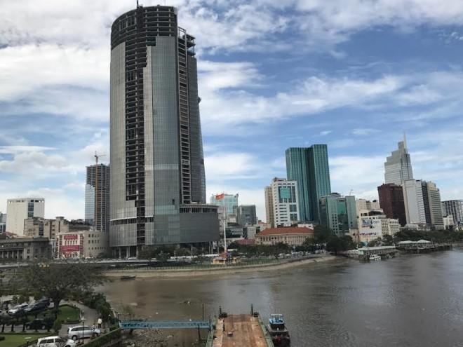 Dự án Saigon One Tower như vết sẹo làm xấu bộ mặt khu trung tâm TP.HCM nhiều năm.