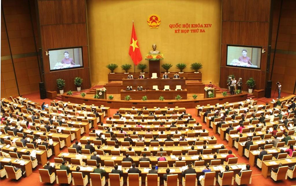 Với 88,19% số đại biểu tham gia biểu quyết tán thành, Luật Quản lý ngoại thương đã được Quốc hội thông qua. Ảnh minh họa