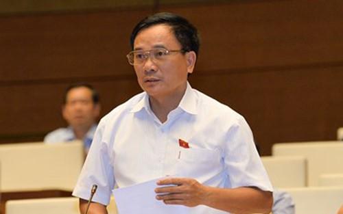 Đại biểu Mai Sỹ Diến – đoàn Thanh Hóa.