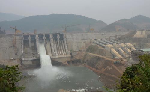Tổ máy 1 Nhiệt điện Thái Bình 1 hòa lưới điện Quốc gia. Ảnh: EVN