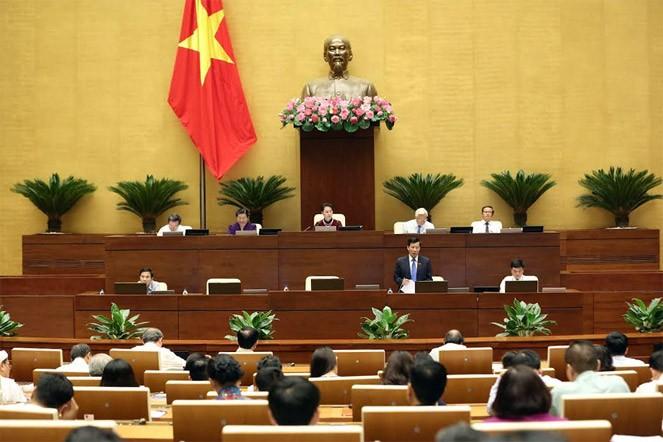 Toàn cảnh Bộ trưởng Nguyễn Ngọc Thiện trả lời chất vấn