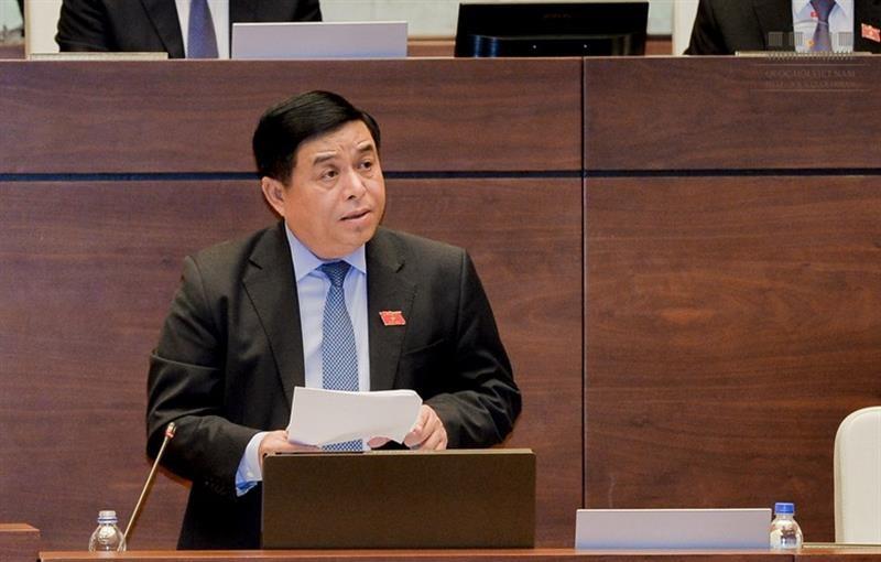 Toàn cảnh Bộ trưởng Nguyễn Chí Dũng trả lời chất vấn