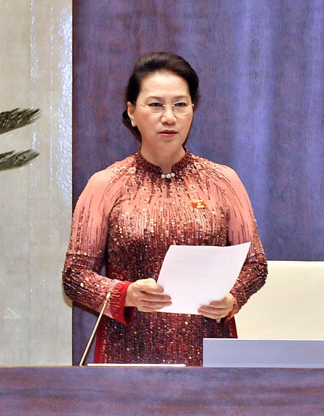 Toàn cảnh Bộ trưởng Nguyễn Chí Dũng trả lời chất vấn - ảnh 1