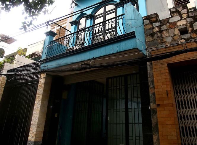 Căn nhà 343/50 Nguyễn Trọng Tuyển (P.1, Q.Tân Bình, TP.HCM), một trong những tài sản để đảm bảo nghĩa vụ thi hành án đối với Phạm Công Danh và vợ