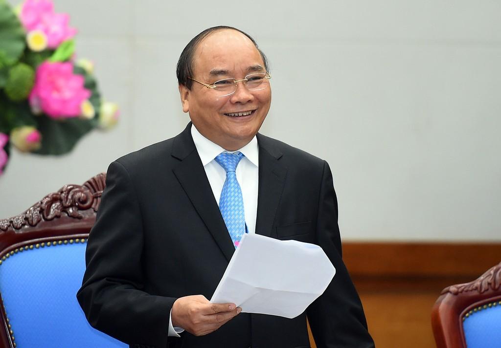 Với mục tiêu có 1 triệu doanh nghiệp vào năm 2020, Thủ tướng đề nghị báo chí phải đẩy mạnh tuyên truyền, hỗ trợ cộng đồng doanh nghiệp. Ảnh: VGP