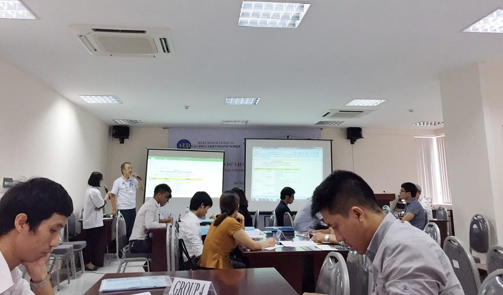 Hỗ trợ DNNVV phân tích dữ liệu để phát triển sản xuất
