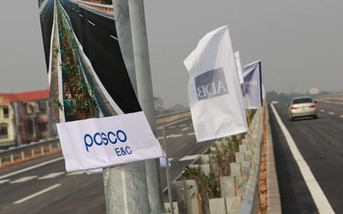 Posco là một trong các nhà thầu Hàn Quốc bị xem là dính nhiều lỗi trong các gói thầu.