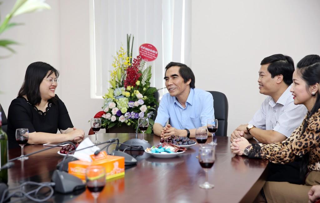 Thứ trưởng Nguyễn Văn Trung chúc mừng Báo Đấu thầu nhân dịp 21/6 - ảnh 1