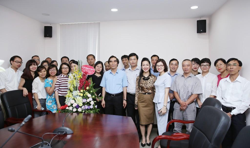 Thứ trưởng Nguyễn Văn Trung chúc mừng Báo Đấu thầu nhân dịp 21/6 - ảnh 2