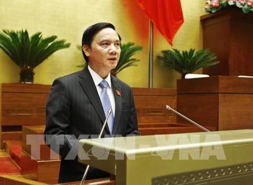 Quốc hội thông qua hai dự án Luật - ảnh 1