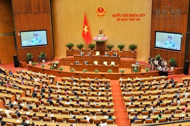 Bế mạc Kỳ họp thứ 3, Quốc hội khóa XIV - ảnh 1
