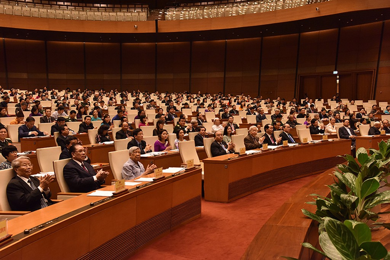 Quốc hội đánh giá cao sự tích cực, năng động của Chính phủ - ảnh 1