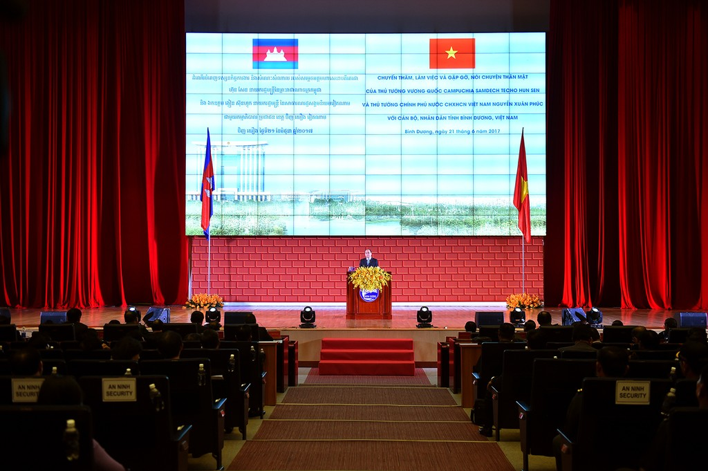 Quan hệ tốt đẹp, bền vững Việt Nam-Campuchia mãi mãi như dòng Mekong nối liền hai nước - ảnh 3